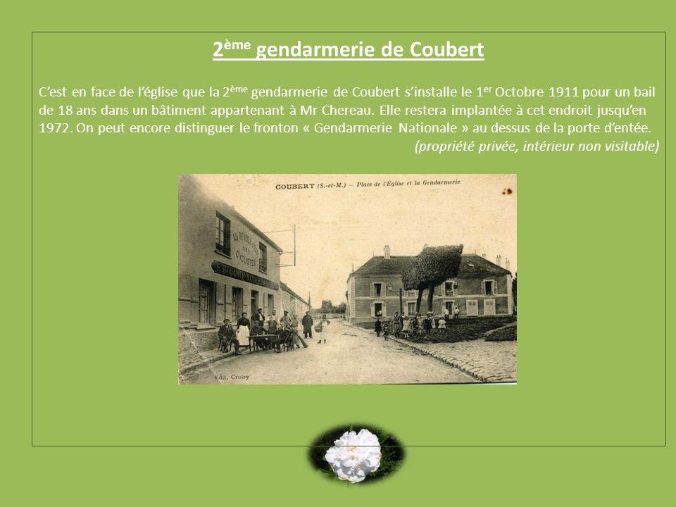 2ème gendarmerie de Coubert