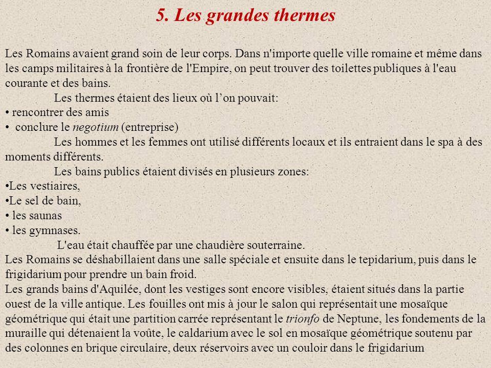 5. Les grandes thermes