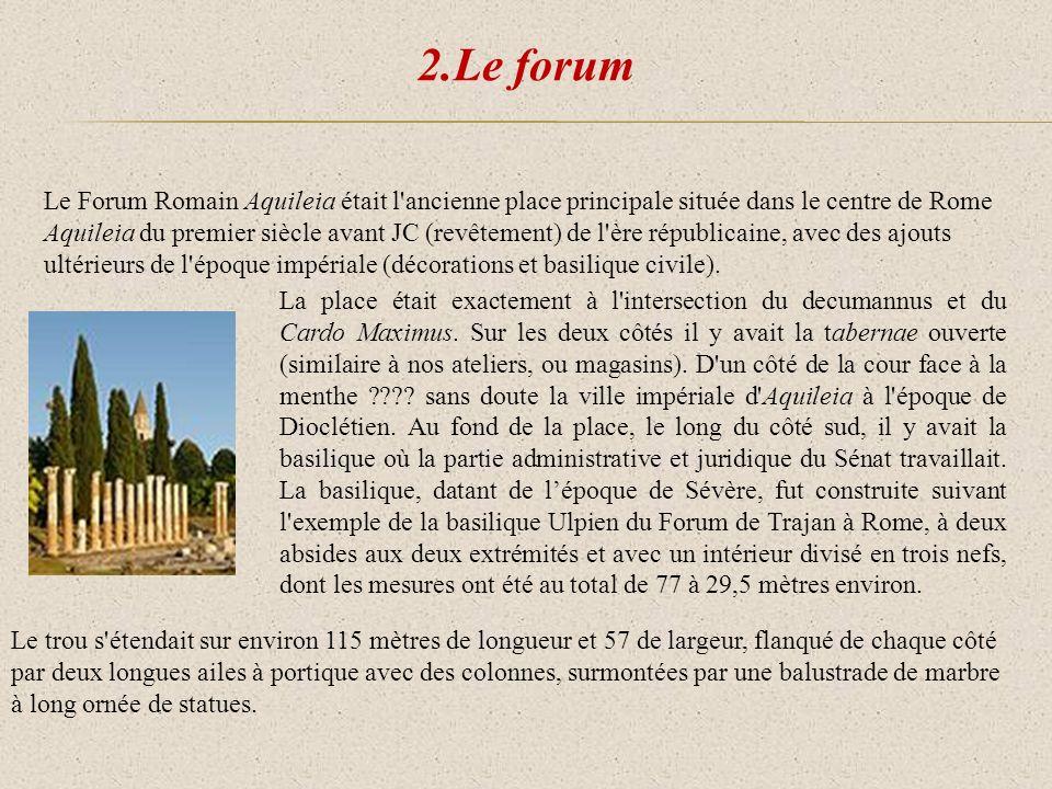 2.Le forum