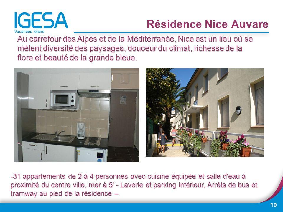 Résidence Nice Auvare