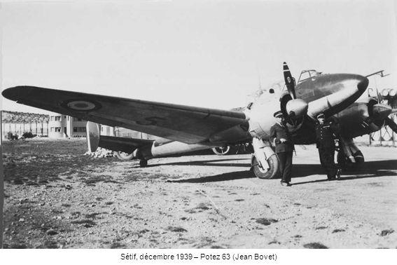 Sétif, décembre 1939 – Potez 63 (Jean Bovet)
