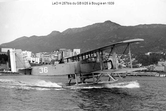LeO H 257bis du GB II/25 à Bougie en 1939