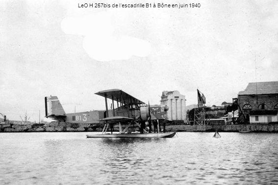 LeO H 257bis de l'escadrille B1 à Bône en juin 1940