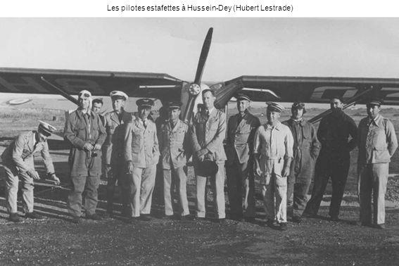 Les pilotes estafettes à Hussein-Dey (Hubert Lestrade)