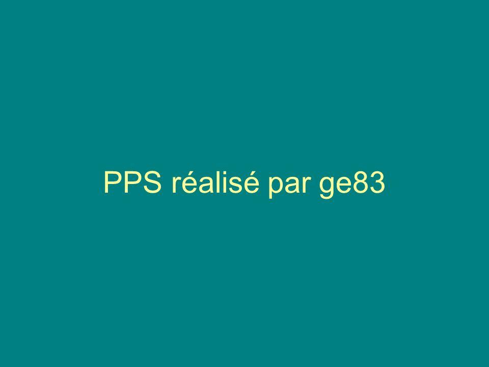 PPS réalisé par ge83