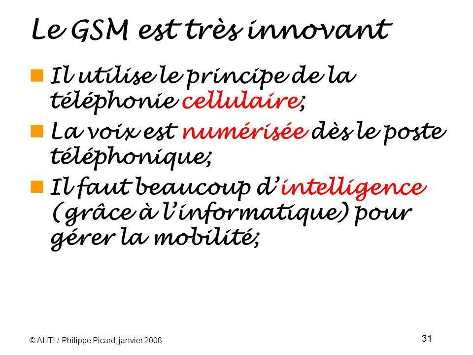 Le GSM est très innovant