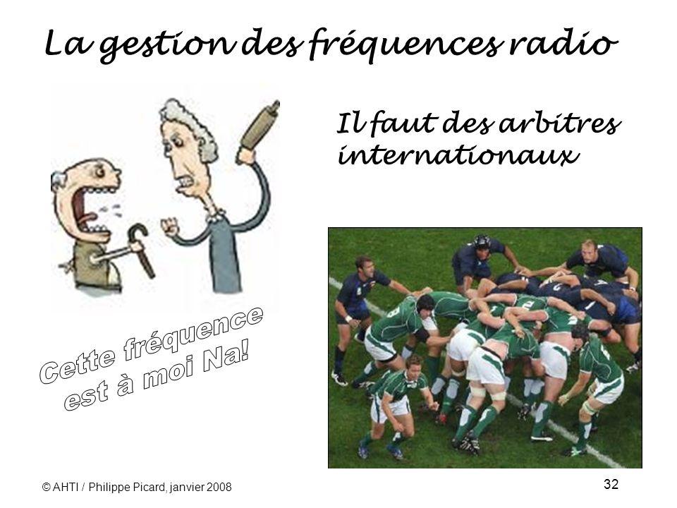La gestion des fréquences radio