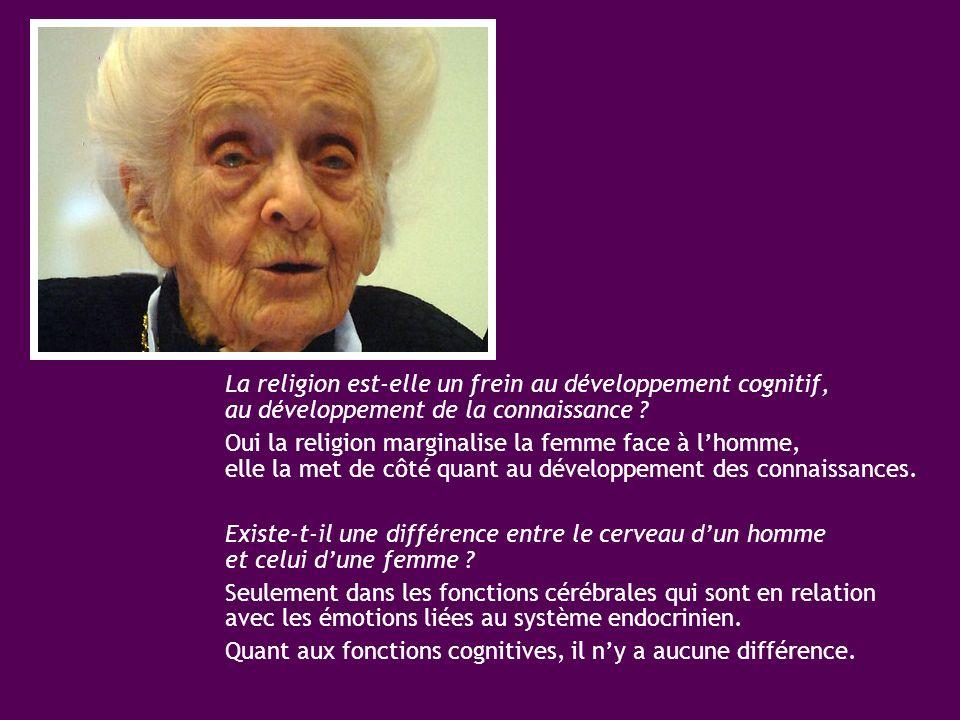 La religion est-elle un frein au développement cognitif, au développement de la connaissance