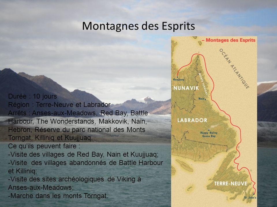 Montagnes des Esprits Durée : 10 jours