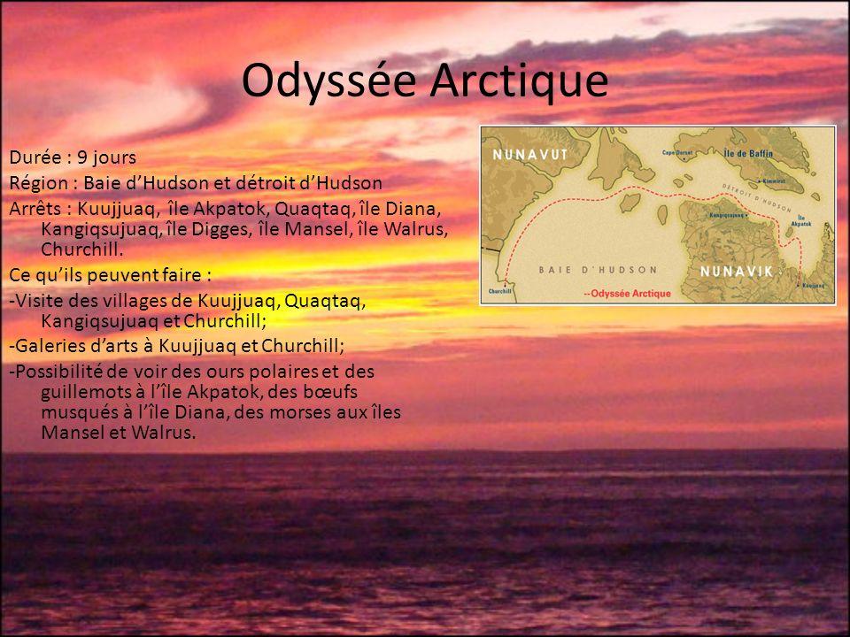 Odyssée Arctique Durée : 9 jours