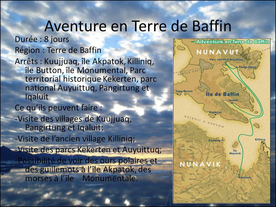 Aventure en Terre de Baffin