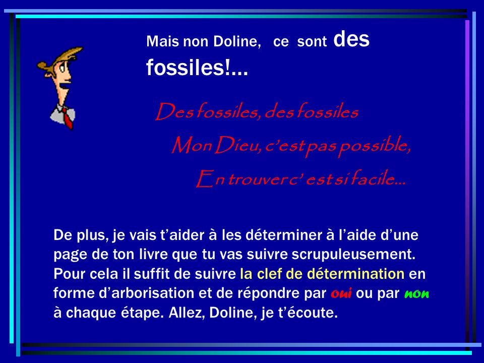 Des fossiles, des fossiles