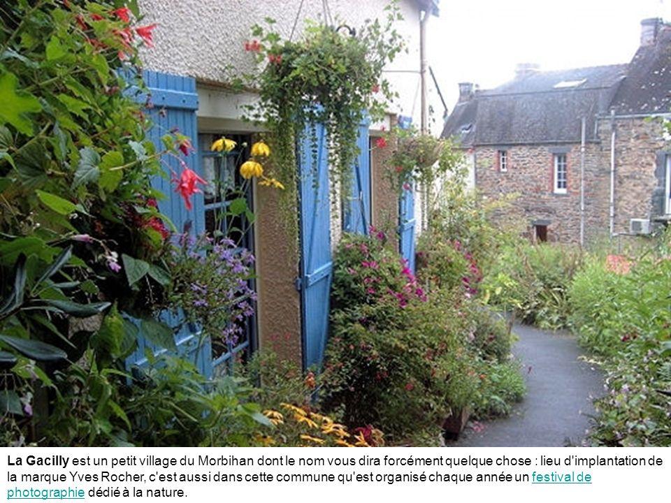 La Gacilly est un petit village du Morbihan dont le nom vous dira forcément quelque chose : lieu d implantation de la marque Yves Rocher, c est aussi dans cette commune qu est organisé chaque année un festival de photographie dédié à la nature.