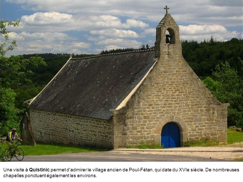 Une visite à Quistinic permet d admirer le village ancien de Poul-Fétan, qui date du XVIe siècle.