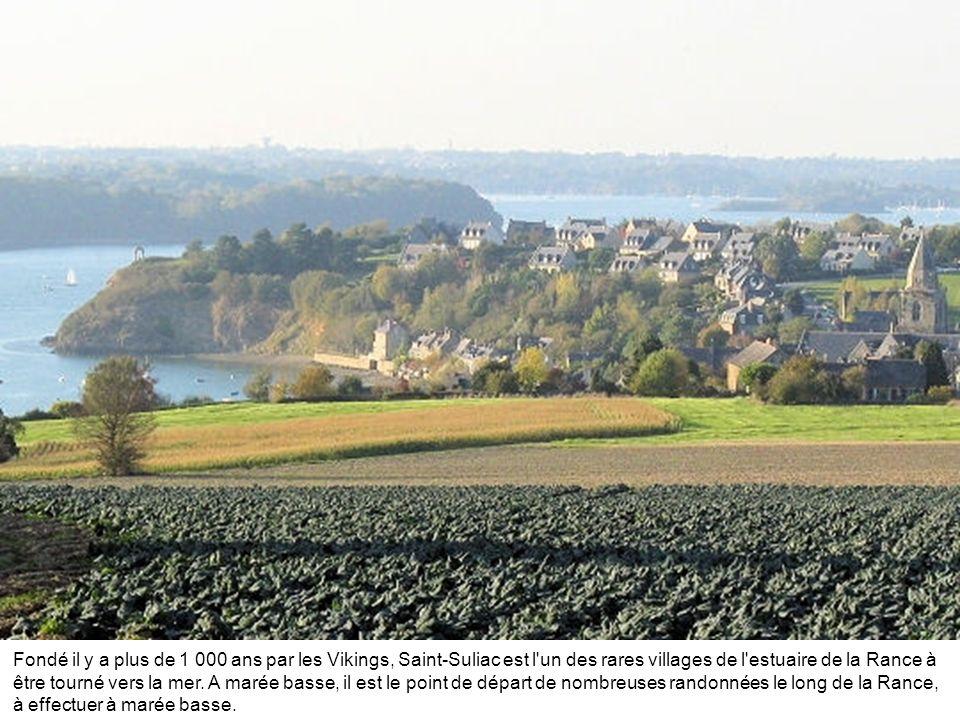 Fondé il y a plus de 1 000 ans par les Vikings, Saint-Suliac est l un des rares villages de l estuaire de la Rance à être tourné vers la mer.