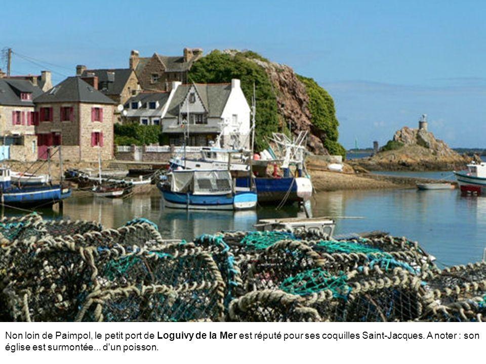 Non loin de Paimpol, le petit port de Loguivy de la Mer est réputé pour ses coquilles Saint-Jacques.
