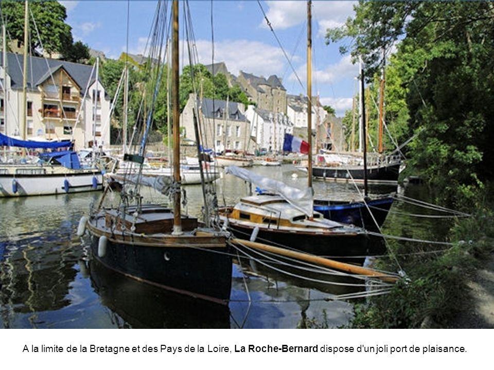 A la limite de la Bretagne et des Pays de la Loire, La Roche-Bernard dispose d un joli port de plaisance.