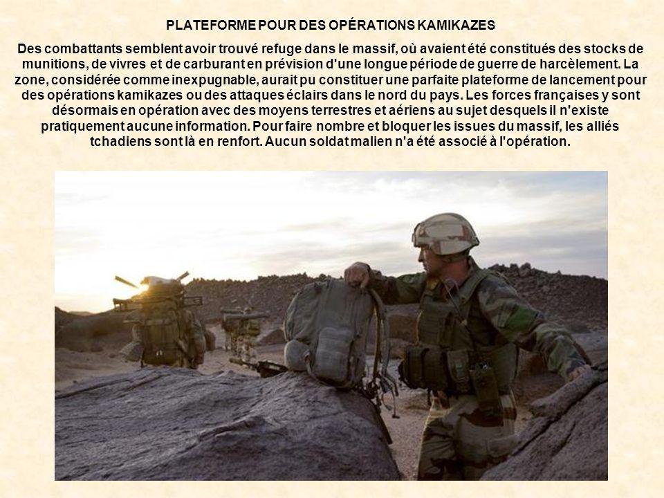 PLATEFORME POUR DES OPÉRATIONS KAMIKAZES