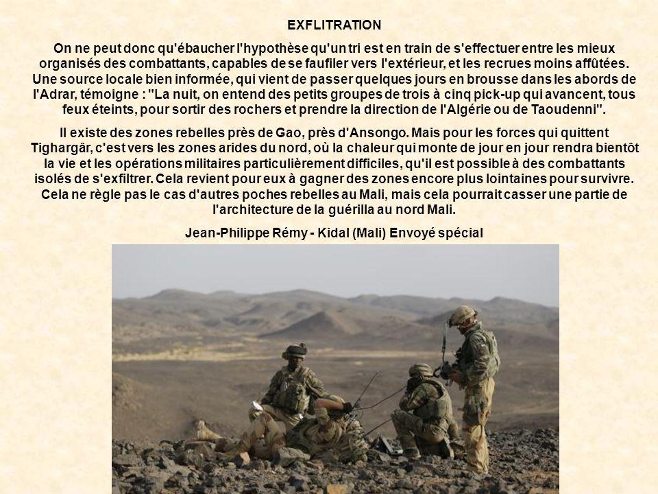 Jean-Philippe Rémy - Kidal (Mali) Envoyé spécial