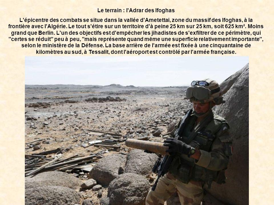 Le terrain : l Adrar des Ifoghas
