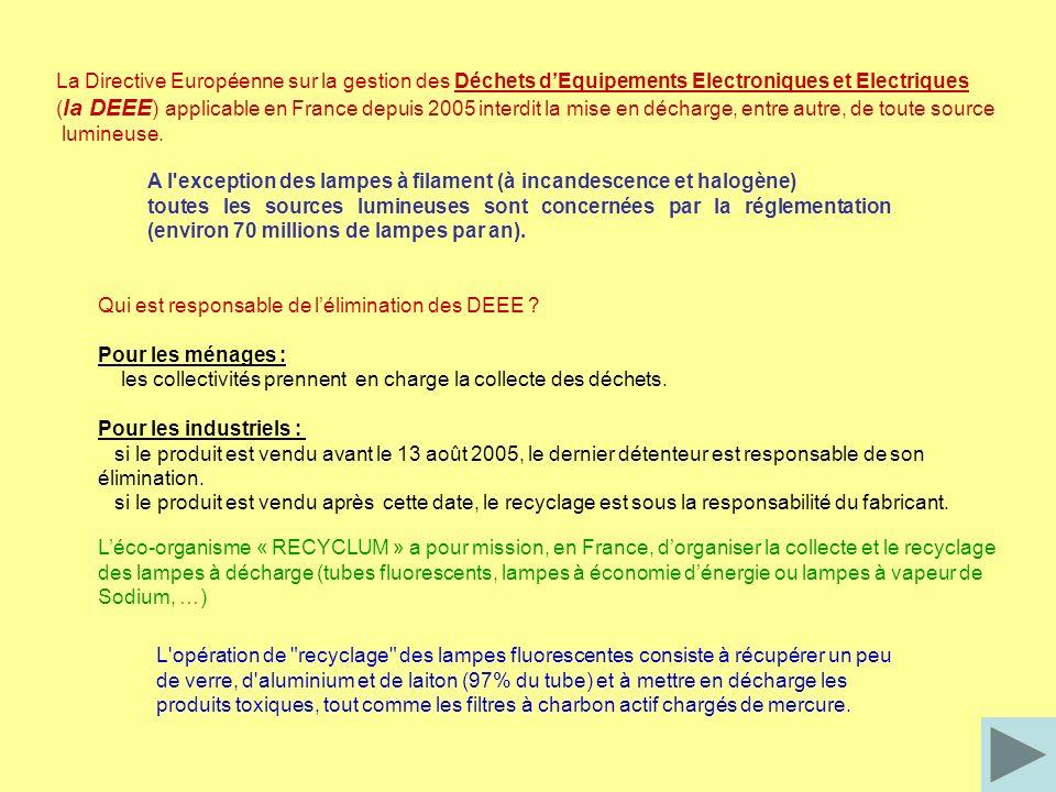 La Directive Européenne sur la gestion des Déchets d'Equipements Electroniques et Electriques