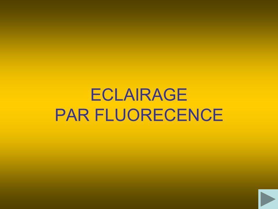 ECLAIRAGE PAR FLUORECENCE