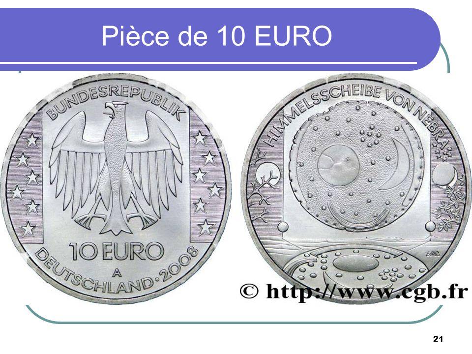 Pièce de 10 EURO