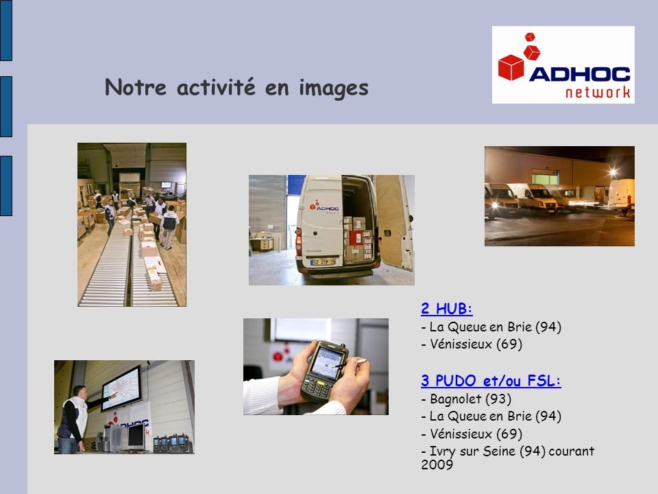 Notre activité en images