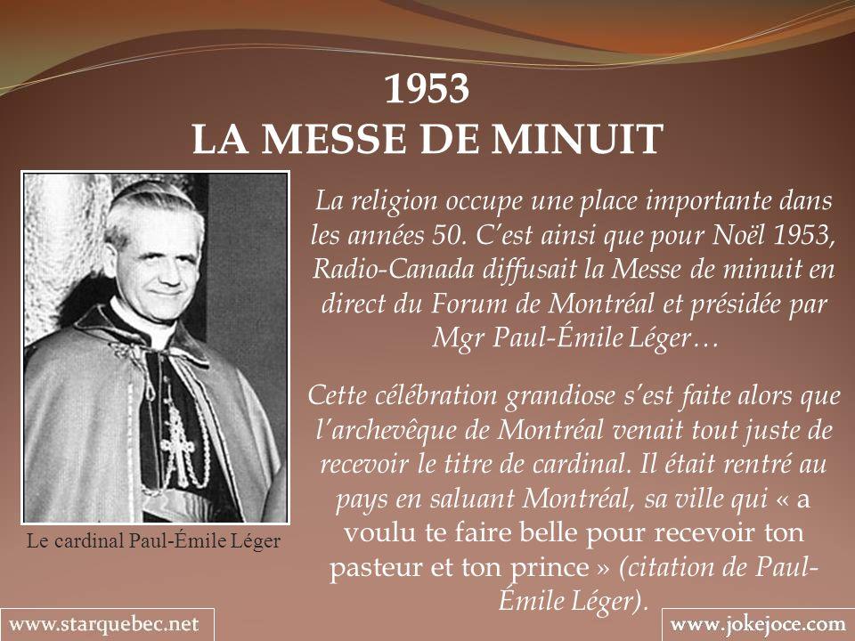 Le cardinal Paul-Émile Léger