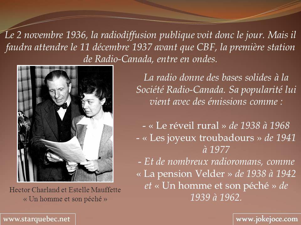« Les joyeux troubadours » de 1941 à 1977