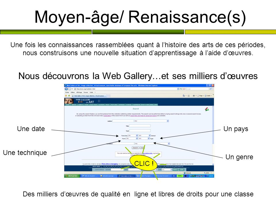 Moyen-âge/ Renaissance(s)