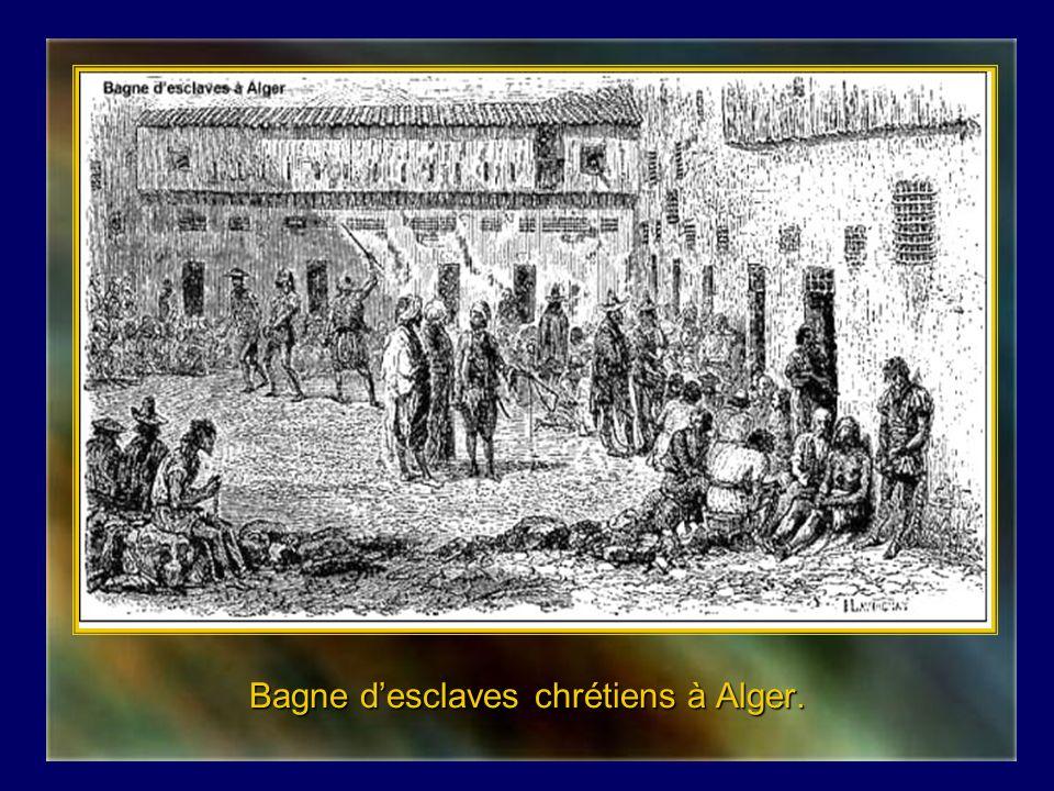 Bagne d'esclaves chrétiens à Alger.