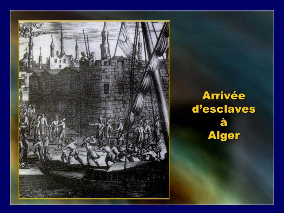 Arrivée d'esclaves à Alger