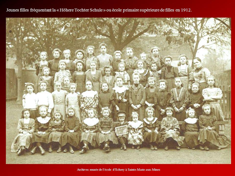 Archives musée de l'école d'Echery à Sainte-Marie-aux-Mines