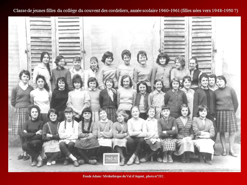 Fonds Adam / Médiathèque du Val d'Argent, photo n°202.