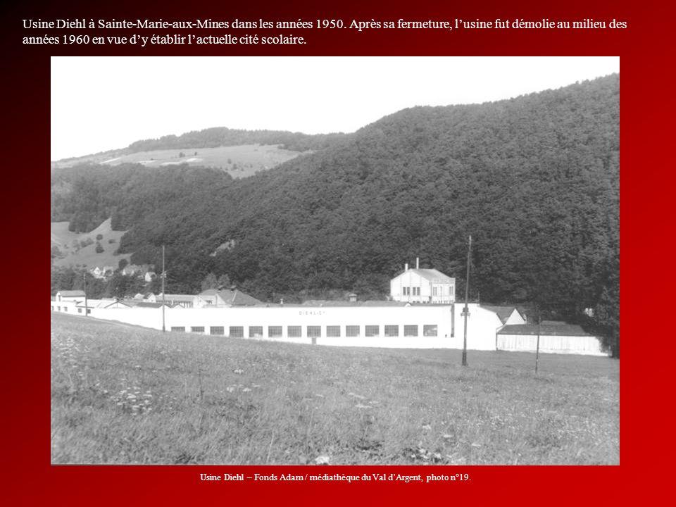 Usine Diehl – Fonds Adam / médiathèque du Val d'Argent, photo n°19.