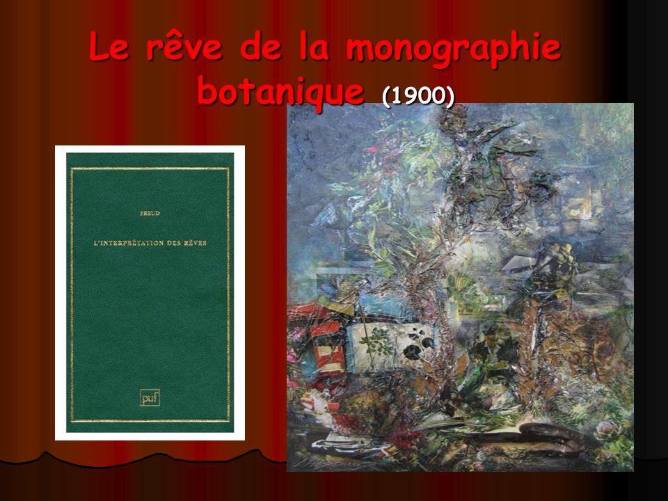 Le rêve de la monographie botanique (1900)