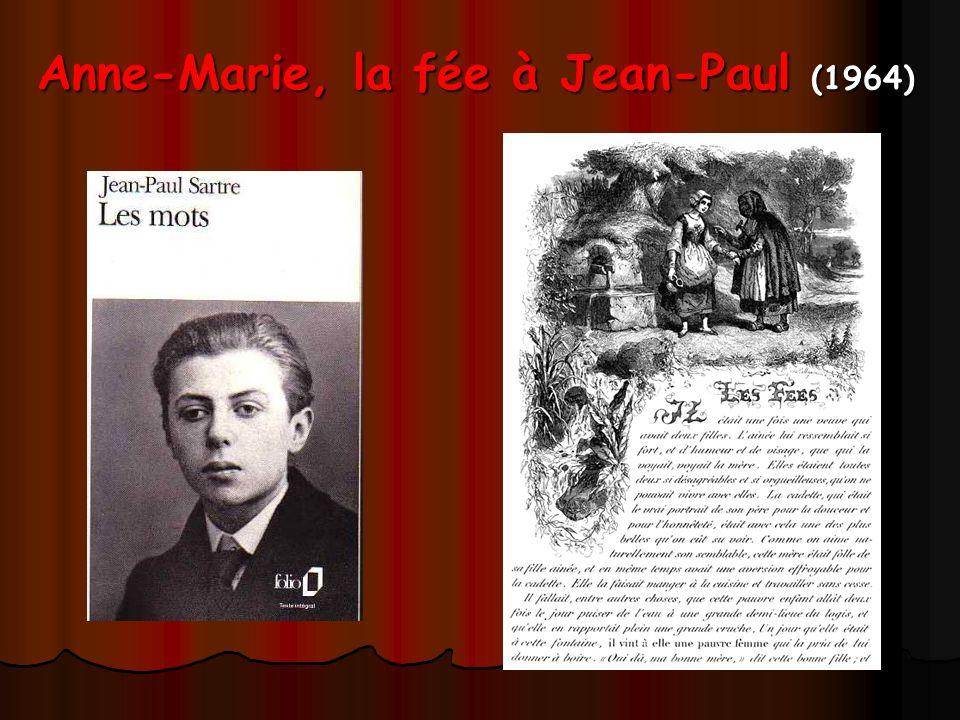 Anne-Marie, la fée à Jean-Paul (1964)