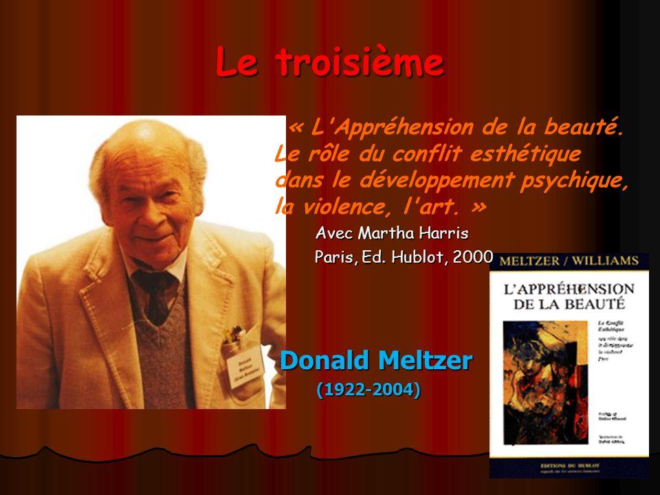 Le troisième Donald Meltzer