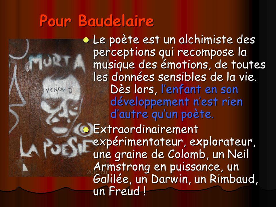 Pour Baudelaire