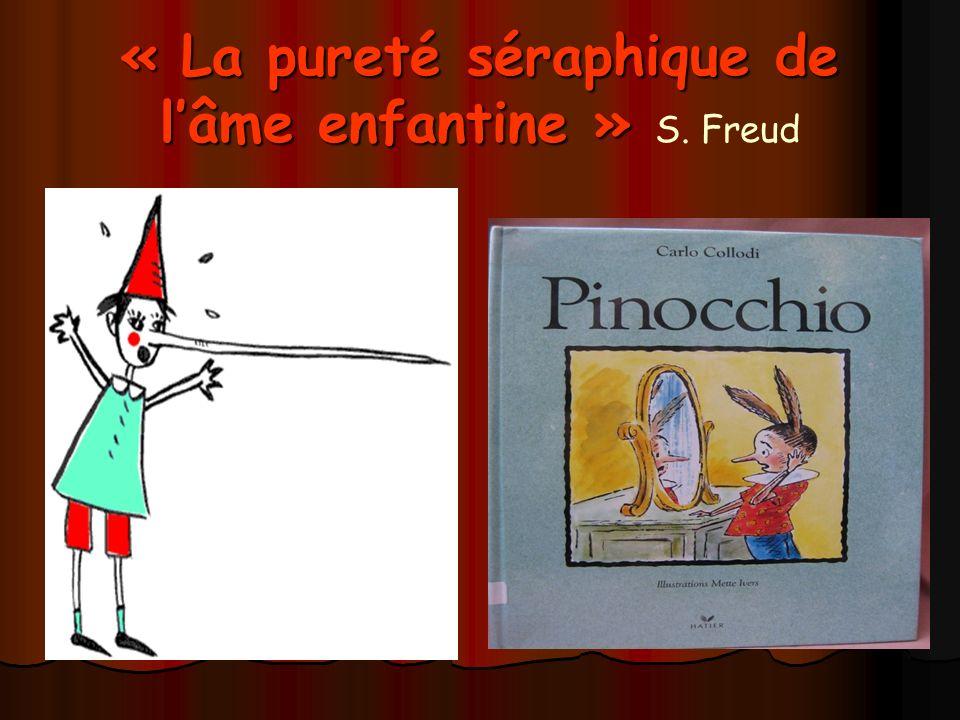 « La pureté séraphique de l'âme enfantine » S. Freud