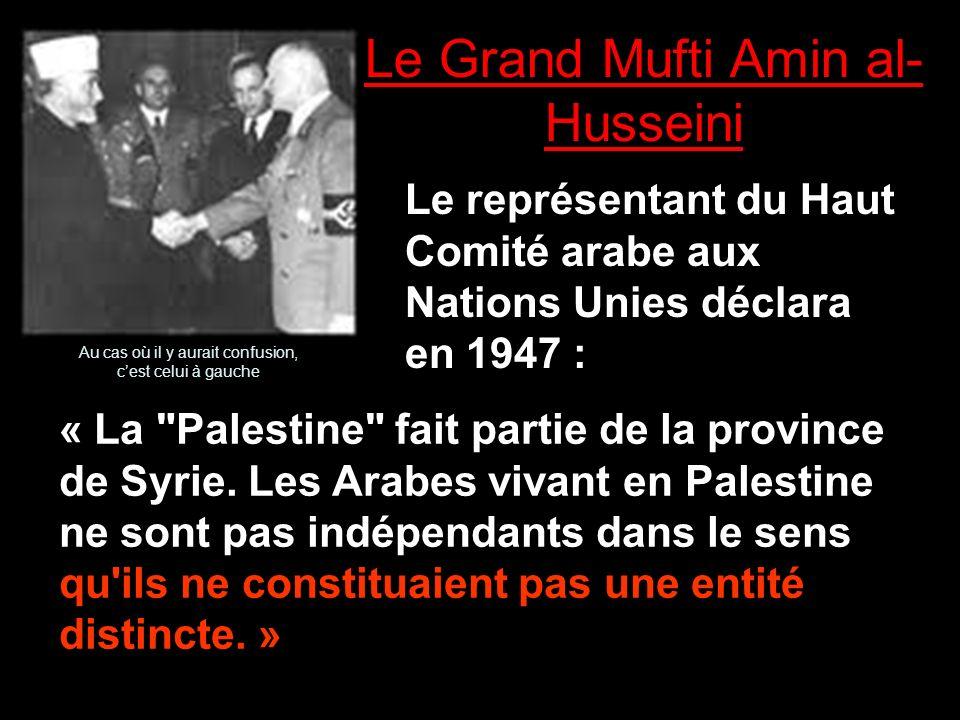Le Grand Mufti Amin al-Husseini