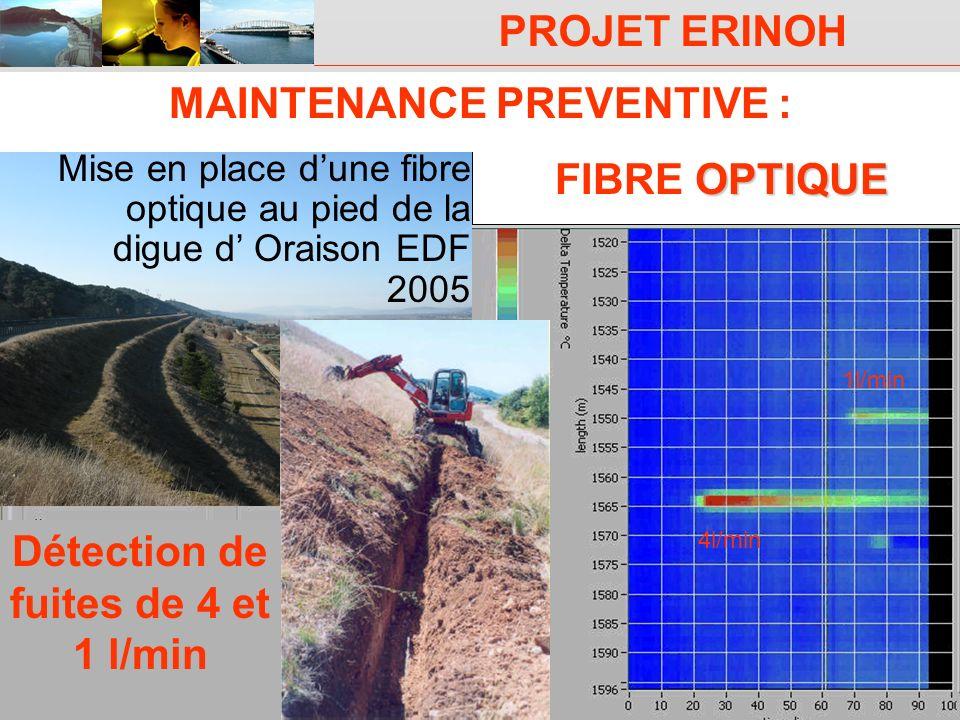 MAINTENANCE PREVENTIVE : Détection de fuites de 4 et 1 l/min