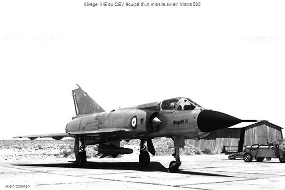 Mirage IIIE du CEV équipé d'un missile air-air Matra 530