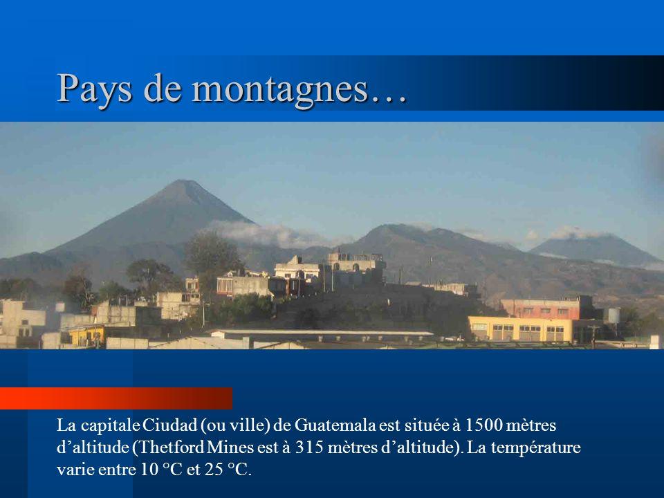 Pays de montagnes…