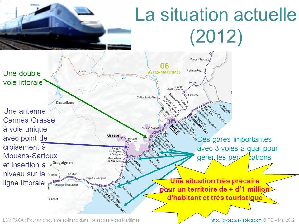 La situation actuelle (2012)