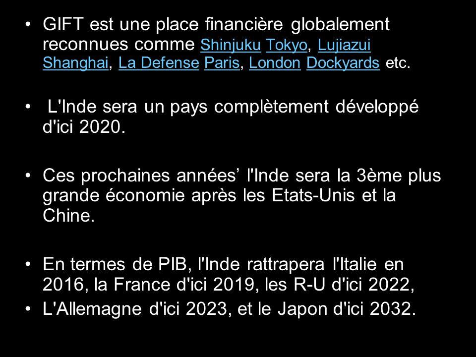 L Inde sera un pays complètement développé d ici 2020.