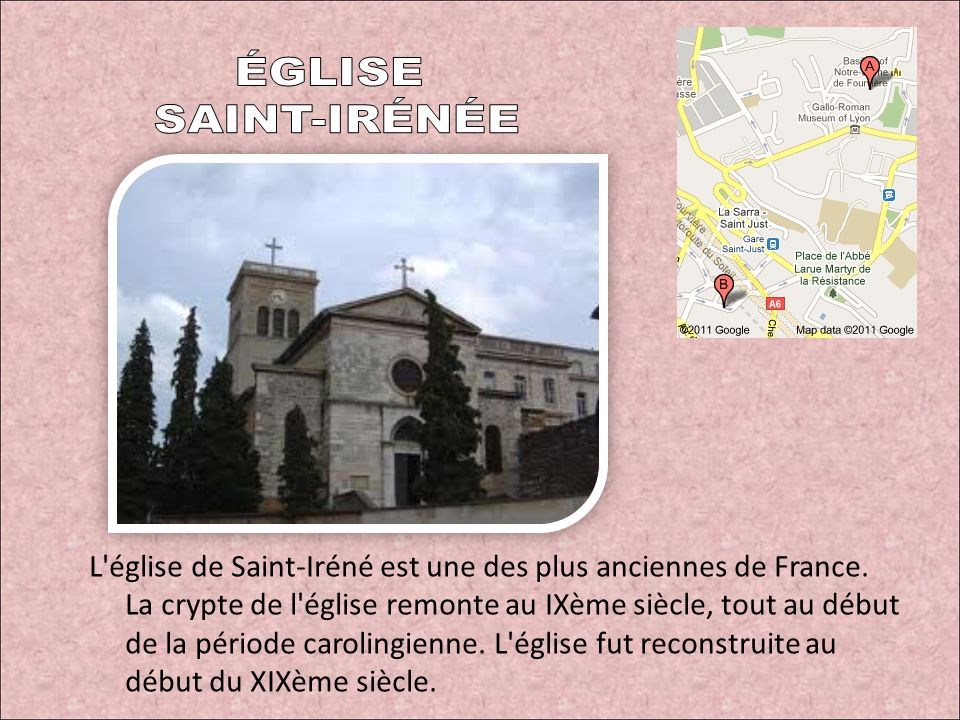 ÉGLISE SAINT-IRÉNÉE.