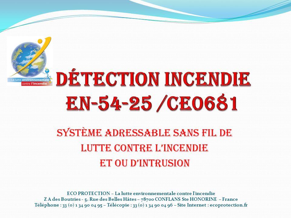 Détection incendie EN-54-25 /CE0681