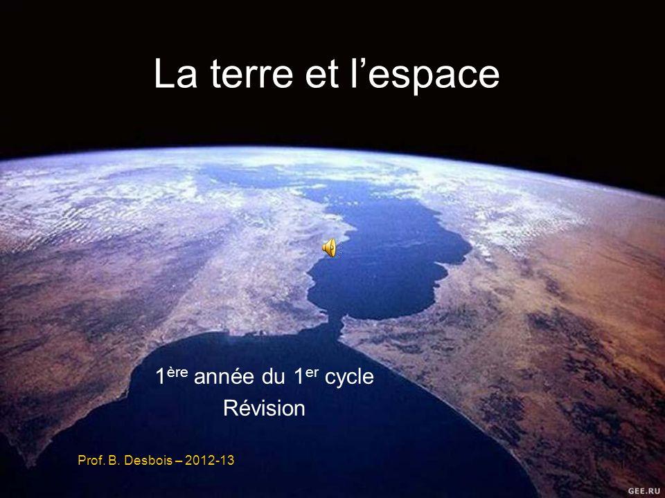 1ère année du 1er cycle Révision Prof. B. Desbois – 2012-13